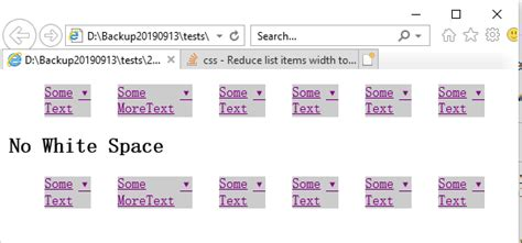 css - Reduce list items width to occupy exact size of text