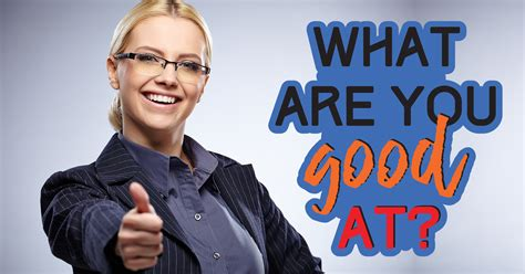 What Are You Good At? - Quiz - Quizony
